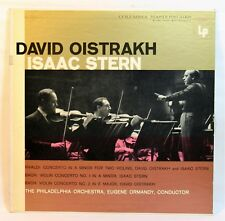 DAVID OISTRAKH ISAAC STERN VIVALDI BACH  EUGENE ORMANDY COLUMBIA  ML 5087.6 EYE