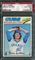 1977 Topps #144 Bruce Sutter Rookie! PSA 8 NM-MT