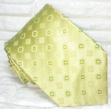 Cravatta verde nuova seta 100% seta Top quality Made in Italy handmade