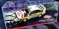 Rallye-Modellautos von Audi im Maßstab 1:43