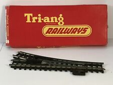 Triang Hornby Model Railway Track Left Point Hand Operated R490 Boxed H0/00