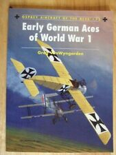 Early German Aces of World War I (Aircraft of the Aces 73)