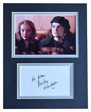 Shirley Henderson Signed Autograph 10x8 photo display Trainspotting Film COA