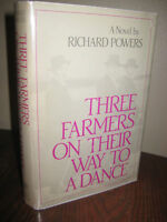 Three Farmers On Their Way To a Dance Richard Powers 1st Edition First Printing