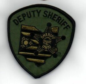OHIO OH COUNTY SHERIFF DEPUTY SUBDUED NEW SHOULDER PATCH POLICE