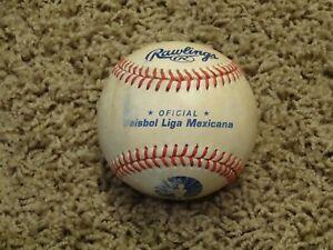 EXTREMELY RARE Rawlings Official MEXICAN LEAGUE Baseball~GAME USED