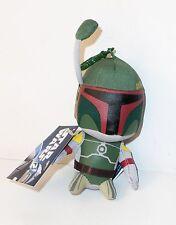 Star Wars Keyring Plush Soft Toy Boba Fett  11 cm Figure Doll New with tag