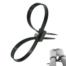 Reusable Quick-tie and Release Zip Cuffs for wrists or ankles bandage