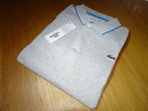 LACOSTE MENS SPORT REGULAR FIT POLO SHIRT FR 4 SMALL RRP:-£80