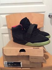Nike Air Yeezy 2; Black Solar Red; Pre-Owned; US 10
