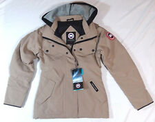 Canada Goose Burnett Parka Coat Tan Brown Ladies Size XXSmall