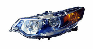 2009-2013 Acura TSX New Left/Driver Side HID Type Headlight Unit
