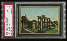 """1911 T99 Sights & Scenes of the World """"The Forum at Rome"""" PSA 6 EX-MT #22489916"""