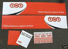Tamiya 1/14 Truck Reefer Box trailer stickers decals TNT LOGISTICS
