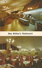 E7679 OK, Shawnee Bea Brittons Restaurant Postcard