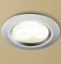 HIB Cool White LED Mat Aluminium Bathroom Kitchen Lounge Ceiling Spotlight 5760
