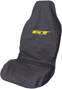 Mountain Bike GT Logo Waterproof Premium Grey Front Car Seat Cover Protector