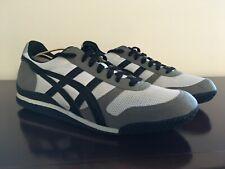 Onitsuka Tiger Ultimate 81 Mens Black Stripes Gray Mesh Low Top Sneakers 11