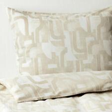 NEW IKEA VINTERJASMIN Full/Queen Duvet cover w/2 pillowcases, white, beige,