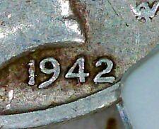 1942/41D MERCURY NGC VF-20 1942/1D 1942 OVER 41 DENVER