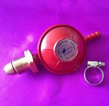LPG Propane Gas 37 mbar Low Pressure Red Regulator - Boiling Ring, Camping, BBQ