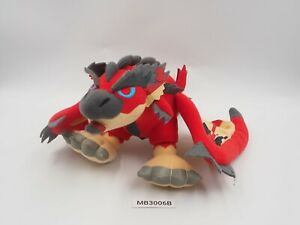 "Monster Hunter MB3006B Red Azure Rathalos 11"" Banpresto 2009 Plush Doll Japan"
