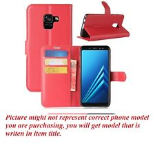 Brand New PU Leather wallet Case Cover For Samsung Galaxy A5 / A8 2018