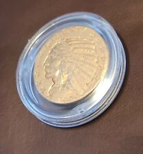 5 Dollar* GOLD* USA 1909* Indian Head Half Eagle*