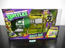 TMNT NICKELODEON TURTLE SUB UNDERWATER STEALTH SHELL W/ EXCL DIVER DONNIE! 50-7