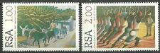 Afrique du Sud - 3. mort de gerard Sekoto 1996 tamponné Mi. 999-1000