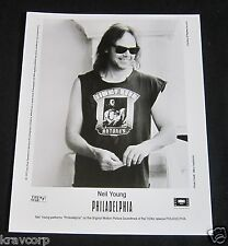 NEIL YOUNG 'PHILADELPHIA' 1993 PUBLICITY PHOTO