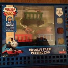 McColl's Farm Petting Zoo Animal Carrier Cars for the Thomas Wooden Railway NEW!