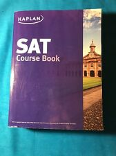 2014 KAPLAN SAT COURSE BOOK, REVIEW, STUDY GUIDE, SAMPLE TESTS with ANSWERS