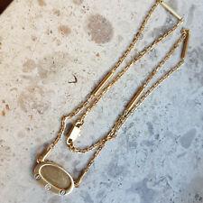 Collier Gold 18k/750er Gelbgold, Diamant/Brillant, massive Goldschmiedearbeit