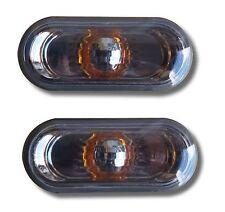 SEAT IBIZA MK5 6J (08-17) SIDE INDICATOR REPEATERS - SMOKED & CHROME