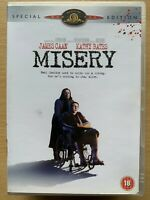 Misery DVD 1990 Stephen King Horror Thriller Movie Classic Special Edition