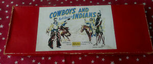 Britains Set #272 North American Cowboys and Indians With Original Box