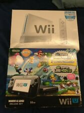 BOX ONLY Nintendo Wii & Nintendo Wii U Boxes NO CONSOLE INCLUDED