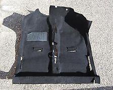 Fiat Panda 141 Dal 1986 Al 2002 Tappeto Moquette Preformato Pavimento Nero