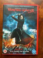 Abraham Lincoln Vampire Hunter DVD 2012 Film Horror