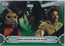 2019 Star Wars Chrome Legacy Green #144 Lando Calrissian And The Falcon 25/50