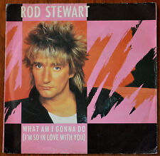 "Rod Stewart ‎– What Am I Gonna Do 7"" – W9564 – VG"
