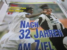 Fußball 11 1996-1997 Halbfinale Ajax Amsterdam Juventus Turin 1:2, 1:4