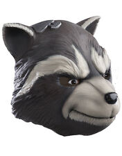 Rocket Raccoon Deluxe Latex Mask, Mens Guardians Of The Galaxy Costume Accessory
