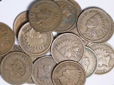 Roll Of 50 Coins Mixed 1800's and 1900's Indian Head Cents Solid Good++ FREE P/H