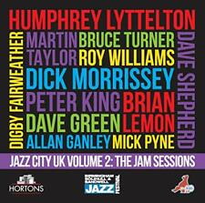 Jazz City UK Volume 2: The Jam Sessions [CD]