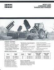 Farm Implement Brochure - Case - K-23A Hydraulic Wing Tandem Disk Harrow (F4615)
