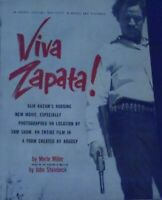 VIVA ZAPATA! Novelization of the John Steinbeck screenplay by Merle Miller 1952