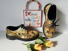Dr Martens 1461 UK 5 EU 38 US 7 di Antonio shoes museum painting 3 eyelet