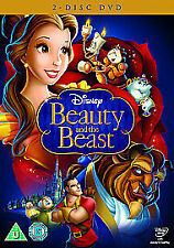 Beauty And The Beast (DVD 2010 2-Discs Box Set) Walt Disney Brand New Sealed